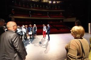 Workshop op het podium van het Nieuwe Luxor